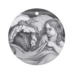 Dore's Red Riding Hood Ornament (Round)