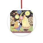 Price's Beauty & Beast Ornament (Round)