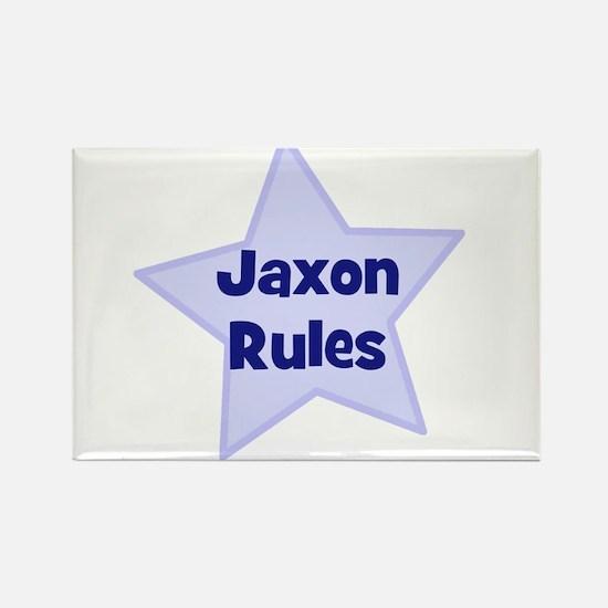 Jaxon Rules Rectangle Magnet