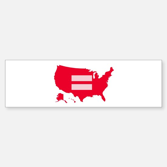 Equality USA Sticker (Bumper)