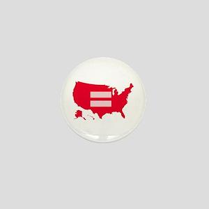 Equality USA Mini Button