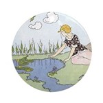 Price's Frog Prince Ornament (Round)