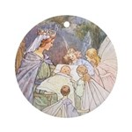 Tarrant's Sleeping Beauty Ornament (Round)