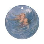 Tarrant's Little Mermaid Ornament (Round)
