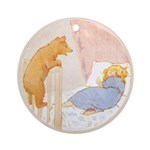 Tarrant's Goldilocks Ornament (Round)