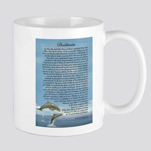 DESIDERATA Poem Dolphins Mug