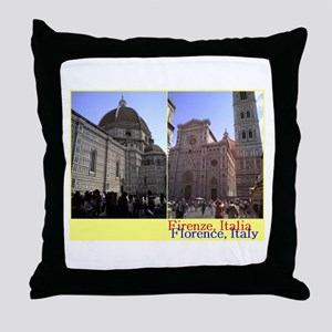Duomo, Firenze, Italy Throw Pillow