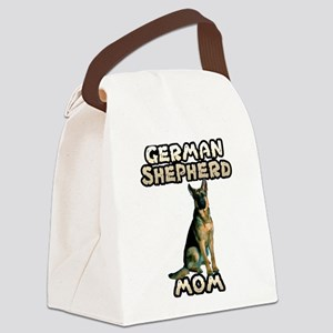 German Shepherd Mom Canvas Lunch Bag