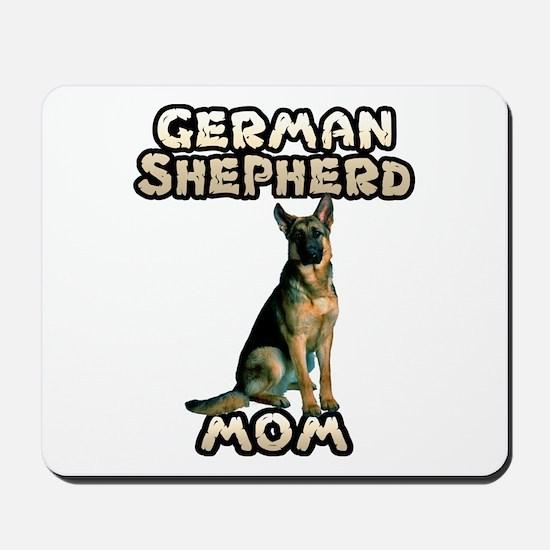 German Shepherd Mom Mousepad
