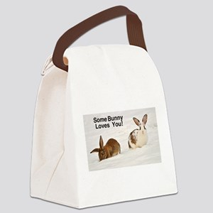 Some Bunny Loves You! Cat Forsley Designs Canvas L