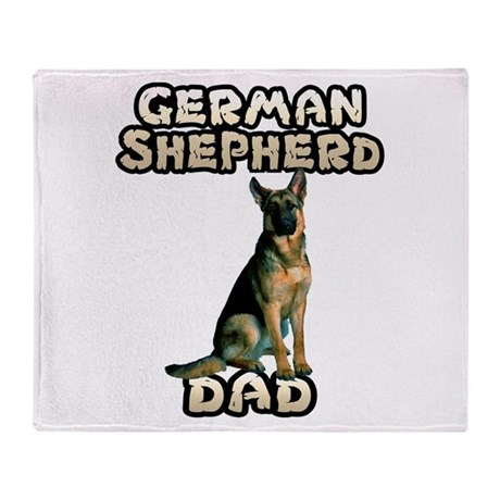 german shepherd blanket german shepherd dad throw blanket by cafepets 501