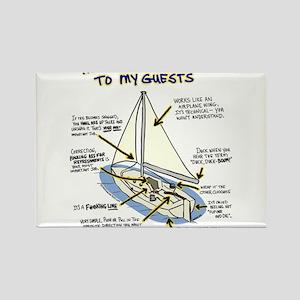 Sailboat_guest Rectangle Magnet
