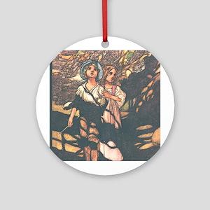 Charles Robinson's Hansel & Gretel Ornament (Round