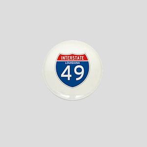 Interstate 49 - LA Mini Button