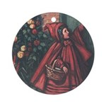 Cole's Red Riding Hood Ornament (Round)