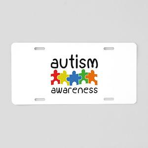 Autism Awareness Aluminum License Plate