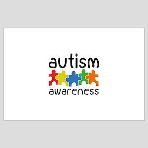 Autism Awareness Large Poster