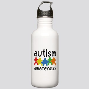 Autism Awareness Stainless Water Bottle 1.0L
