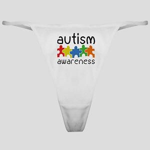 Autism Awareness Classic Thong