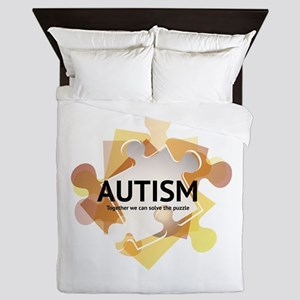 Autism Awareness Queen Duvet