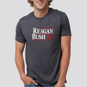 Reagan Bush Shirt Mens Tri-blend T-Shirt