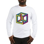 Cube Illusion Long Sleeve T-Shirt