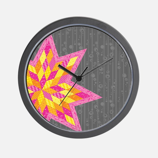 Morgan's Star Wall Clock