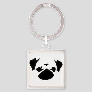 Cutie Pug Keychains