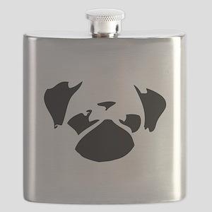 Cutie Pug Flask