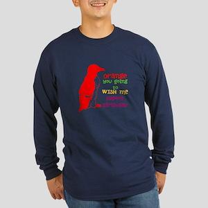 Happy Birthday/ Long Sleeve T-Shirt