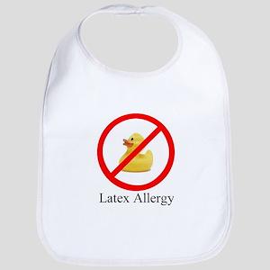 Latex Allergy Rubber Duck Bib