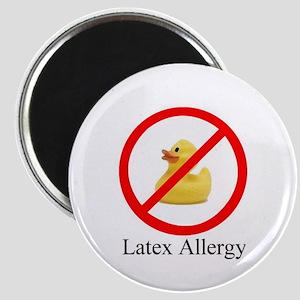 Latex Allergy Rubber Duck Magnet