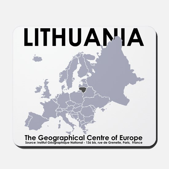 Centre of Europe Mousepad