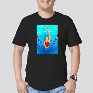 Woman swimming T-Shirt