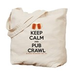 TBG Keep Calm - White BG Tote Bag