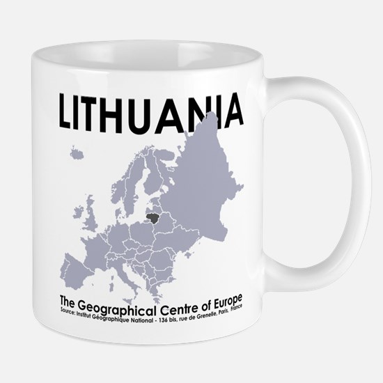 Centre of Europe Mug