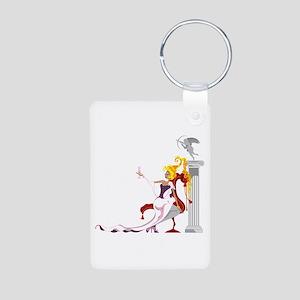 Venus & Eros Aluminum Photo Keychain