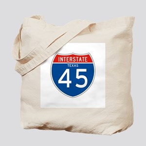 Interstate 45 - TX Tote Bag