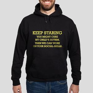 Keep Staring Hoodie (dark)