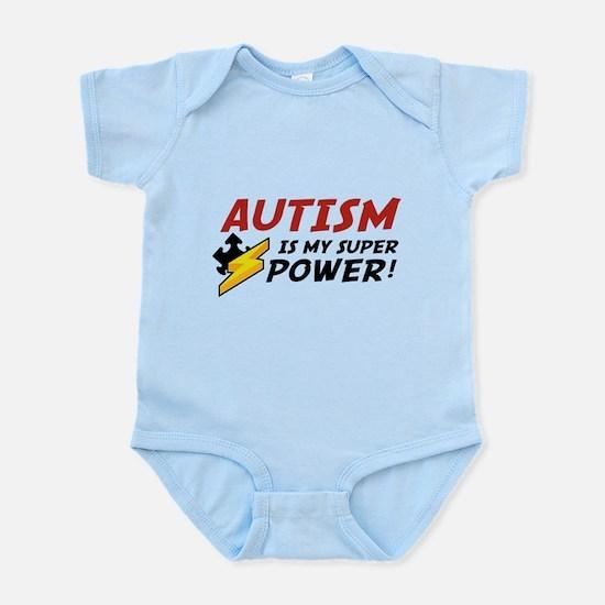 Autism Is My Super Power! Infant Bodysuit