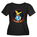 VP-1 Women's Plus Size Scoop Neck Dark T-Shirt