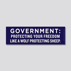Government Protection Car Magnet 10 x 3