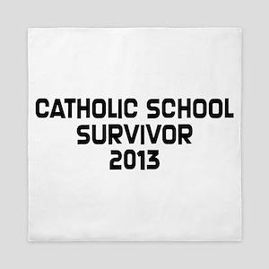 Catholic School Survivor Queen Duvet