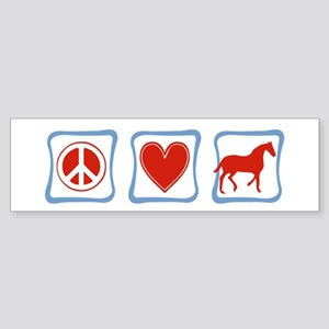 Horses Sticker (Bumper)
