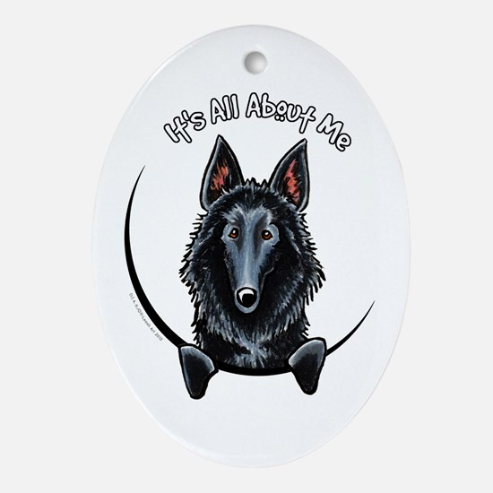 Belgian Sheepdog IAAM Ornament (Oval)
