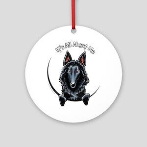 Belgian Sheepdog IAAM Ornament (Round)