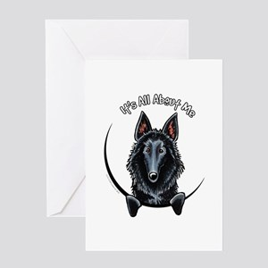Belgian Sheepdog IAAM Greeting Card