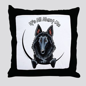 Belgian Sheepdog IAAM Throw Pillow