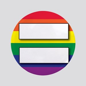 """Marriage of Equality 3.5"""" Button"""