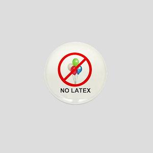 No Latex Mini Button